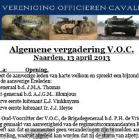 Notulen 74e AV – 2012