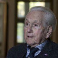 Bericht van overlijden van Oud Res Ritm Jhr W.F. Clifford Kocq van Breugel