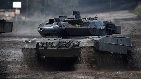 Leopard terug in de slagorde
