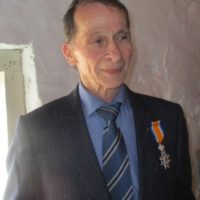 Lkol bd Nix Ridder in de Orde Oranje Nassau