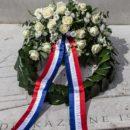 Kranslegging  Cavalerie  Monument  Oude  Waalsdorperweg,  Den  Haag