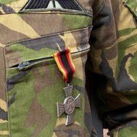 Duitse onderscheiding voor luitenant-kolonel Harry Kampen