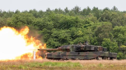 Schietdemonstratie Leopard 2